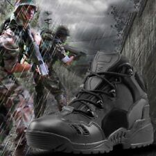 Mens Work Desert Shoes Army Tactical Comfort Leather Combat Military Ankle Boots