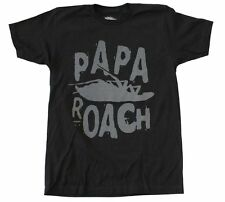Papa Roach Classic Logo T-Shirt Rock Alternative Music Band Cotton Tee