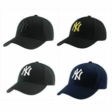 Black Navy New York Yankees Baseball Cap Unisex Adjustable Snapback Baseball Hat