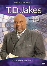 T.D. Jakes - Its Under My Feet (DVD, 2007)