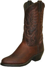 Abilene Boots Mens Brown Bison Cowboy Western USA