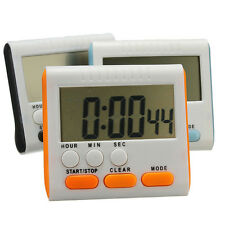 LCD Digital Kitchen Cooking Timer Count-Down Up Clock Loud Alarm Reminder