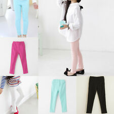 Tight Pants Hot Autumn Leggings Girls Candy Color Pencils Cowboy Trousers Kids