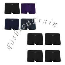 4Pcs Sexy Mens Boxer Shorts Trunks Breathable Baggy Underwear Briefs Underpants