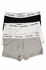 New CALVIN KLEIN Mens Cotton Stretch Trunk 3 Pack Assorted