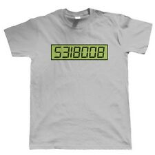 Boobie Calculator, Mens Funny T Shirt - Birthday Gift For Dad Him Fathers Day