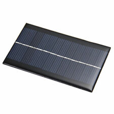 6V 1W Solar Panel Solar System DIY For Battery Cell Phone Chargers Portable LJ
