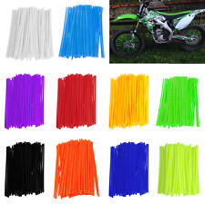 Motocross Dirt Bike Enduro Wheel Rim Spoke Skins Cover For kawasaki kx 250 72pcs