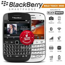 "Unlocked BLACKBERRY Bold Touch 9900 Black/White 2.8"" MP3 WiFi 5MP 3G Smartphone"