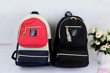 Japan Anello Fashion Backpack Rucksack Women Canvas Quality School Bag Campus