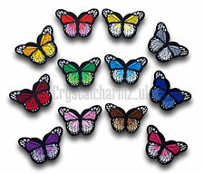 Butterfly Iron / Sew On Embroidered Applique Motif Patch *Buy 2 get 25% off*