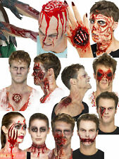 Halloween Latex Prosthetic Wound Gruesome Gory Fancy Dress Costume Accessory