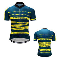 New Men Bike Cycling Short Sleeve Outfits Jersey Sweater Maillot Shirt Tops Gear