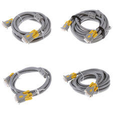 High-Definition VGA Video Audio Cable for PC Monitor Projector Laptop Cable