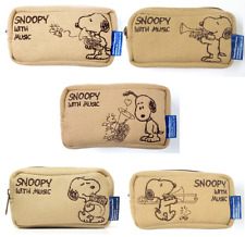 SNOOPY with Music Mouthpiece pouch [Trumpet,Horn,Trombone,Euphonium,Tuba]