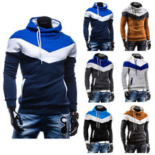Casual Warm Hoodies Slim Fit Coat Jackets Mens Hooded Thick Fleece Sweat P0005