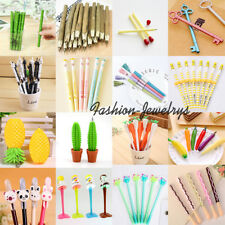 23 Multi-Type Cue Cartoon Gel Ink Ballpoint Pens School Stationery Office Supply