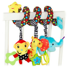 Fisher-Price Animal Mobile Toy Baby Rattle Bed Stroller Perfect For Christmas