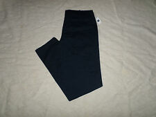 GAP CHINO LIVED-IN SLIM PANTS MENS SIZE 32X36 ZIP FLY NAVY BLUE COLOR NEW NWT