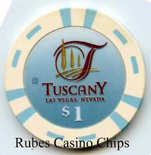 1.00 Chip from the Tuscany Casino in Las Vegas Nevada