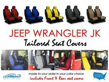 Jeep Wrangler JK 2017 Unlimited Front & Rear Neoprene Seat Covers from Coverking
