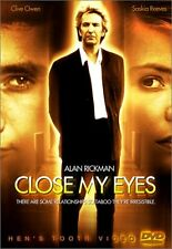 Close My Eyes - DVD - Color Widescreen Ntsc - **BRAND NEW/STILL SEALED**