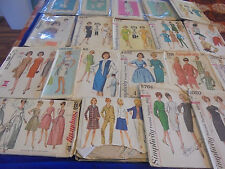 ALL SZ 16 U PICK SEWING PATTERNS + THAN PICS 1960S MADMEN STRAIGHT WIGGLE MORE