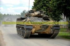 British Army  Warrior Infantry Fighting Vehicles Military Photo Print Tank  War