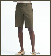 "BANANA REPUBLIC MEN'S Emerson Straight Luxe Stretch 11"" SHORTS 33/34 BRAND NEW"