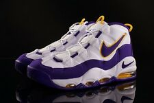 NIKE AIR UPTEMPO 9 PIPPEN Lakers WHITE Max 1 Derek Fisher tempo more 90 95 ball