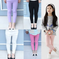 Lovely Girl Stretchy Pants Trousers Children Skinny Leggings Casual Tight Pencil