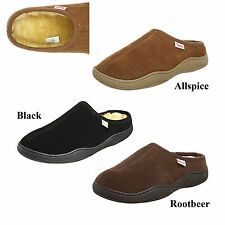 Tamarac by Slippers International Men's Scuffy 8117 Suede Leather Clog Slippers