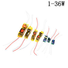 1-36W LED Driver Input AC100-265V Power Supply Constant Current DIY LED Lamp EC