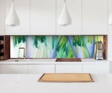 Sticker Kitchen back wall 3D Effect Colours abstract Art Splash guard 22A179