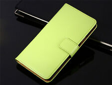Genuine Leather Flip Wallet Case Cover For Sony Xperia Z1 Z3 Z4 Z5 Compact Case