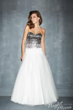 Night Moves 7100 Long Sweetheart Prom Dress