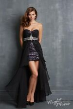 Night Moves 7094 Long Strapless Prom Dress