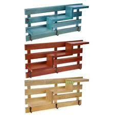 Wood Wall Mounted Shelf Holder Storage Rack Organizer Hanging Home Decor BEST