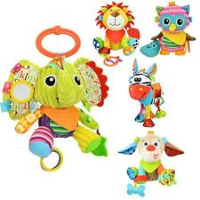 Animal Baby Bell Hand Grasp Educational Toys Infant Rattle Bell Bed Hanging Toy