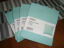 """4 x NEW Ikea Cushion Covers Solid color GURLI 20x20"""" Decor Throw Pillow Covers"""