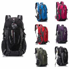 40L Breathable Outdoor Waterproof Nylon Camping Hiking Travel Sport Backpack