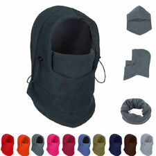 Fleece Balaclava Hood Swat Ski Mask Bike Beanies Winter Wind Stopper Face Hats 0