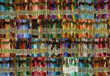10 * 8m Skeins DMC Stranded Embroidery Cotton Thread Floss MIXED COLOURS