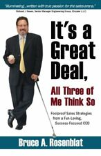 ITS A GREAT DEAL ALL THREE OF ME THINK SO YOU WOULD BE SURPRISED By Bruce A. NEW