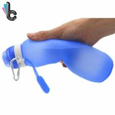Travel Sport Flexible Collapsible Foldable Outdoor Water Bottle (USA Shipping)