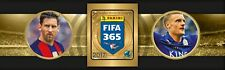 stickers Panini FIFA 365 2017 special Golden Football Heritage Team Photo Emblem