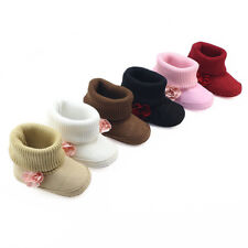 Winter Baby Girls Shoes Toddler Infant Warm Soft Sole First Walkers Cotton Shoes