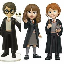 Funko Rock Candy Harry Potter, Hermione Granger & Ron Weasley Action Figures