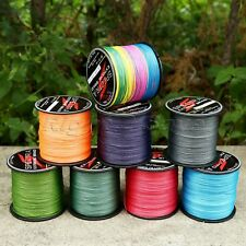 300/500/1000M Premium Quality PE Braided Line 8 Strands12LB-160LB Fishing Line