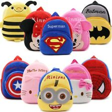 Kids Plush Backpacks Mini Schoolbag Hello Kitty Plush School Bags
